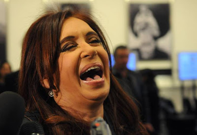 Que caripela! Cristina Fernández de Kirchner
