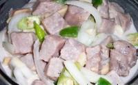 Kinilaw (kilawin) Raw Tuna Salad