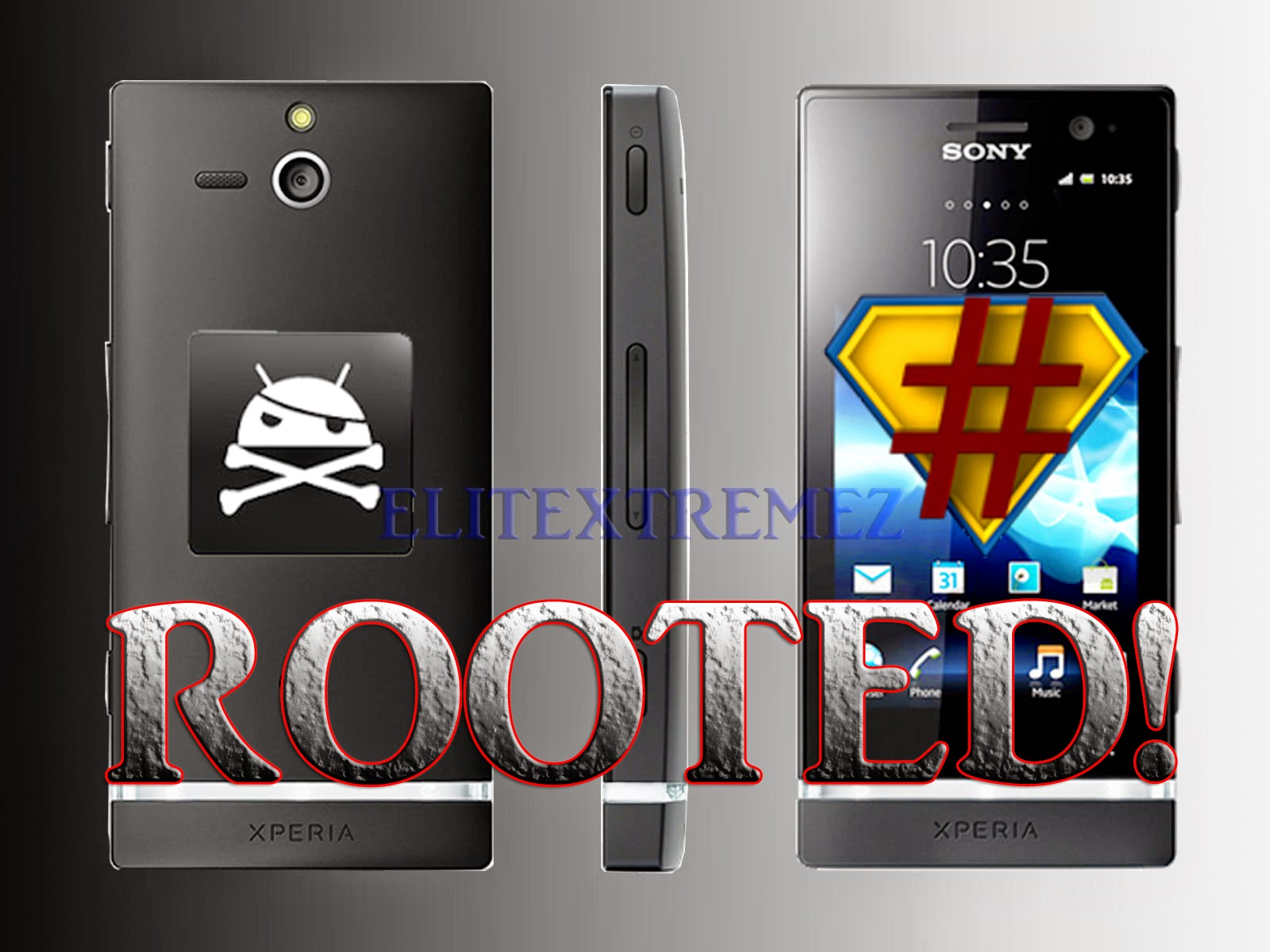 How to Root Sony Xperia U