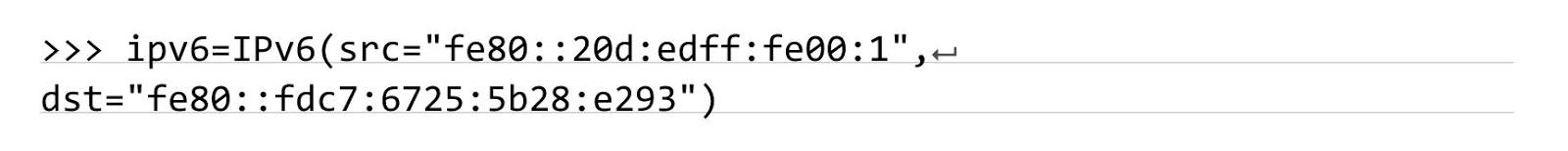 задаются адреса сетевого уровня, где адрес отправителя подменяется