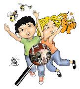 Ilustración del cuento Niños Eternos de Érica González, para la revista La . (niã±os eternos chelocandia)
