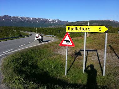 Dejamos Narvik hacia Alta.