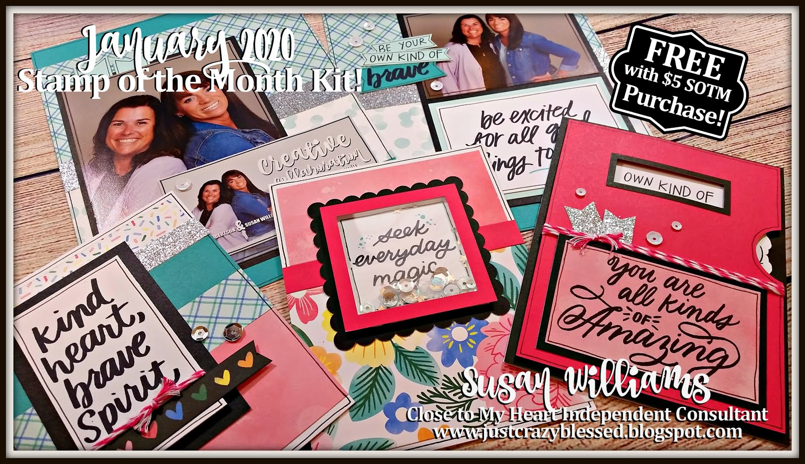 January 2020 Stamp of the Month Workshop!
