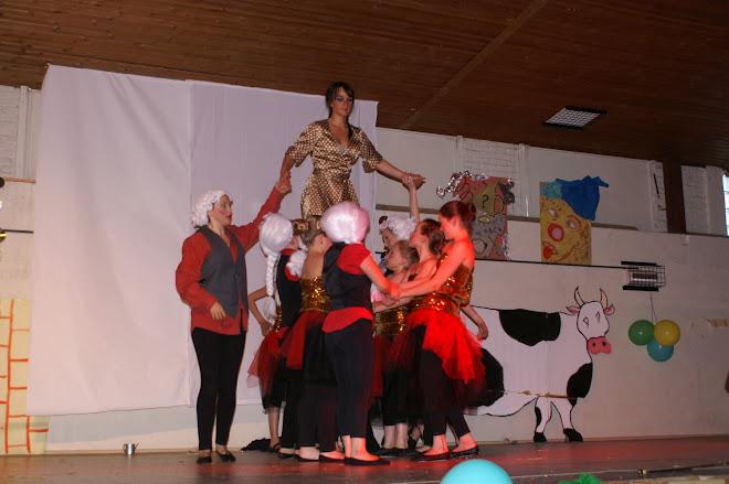 Le fameux porté des danseuses ados