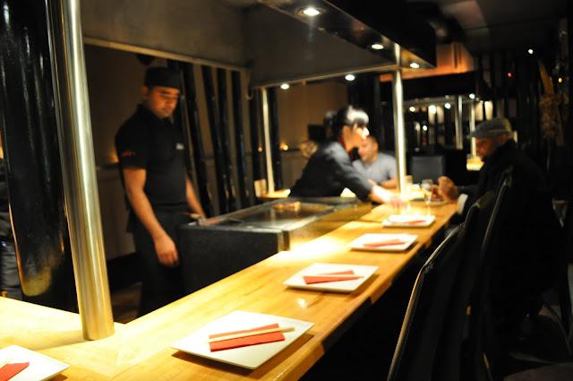 Sen+Nin+Islington+Upper+Street+review+Japanese+Teppanyaki+restaurant+teppanyaki+station