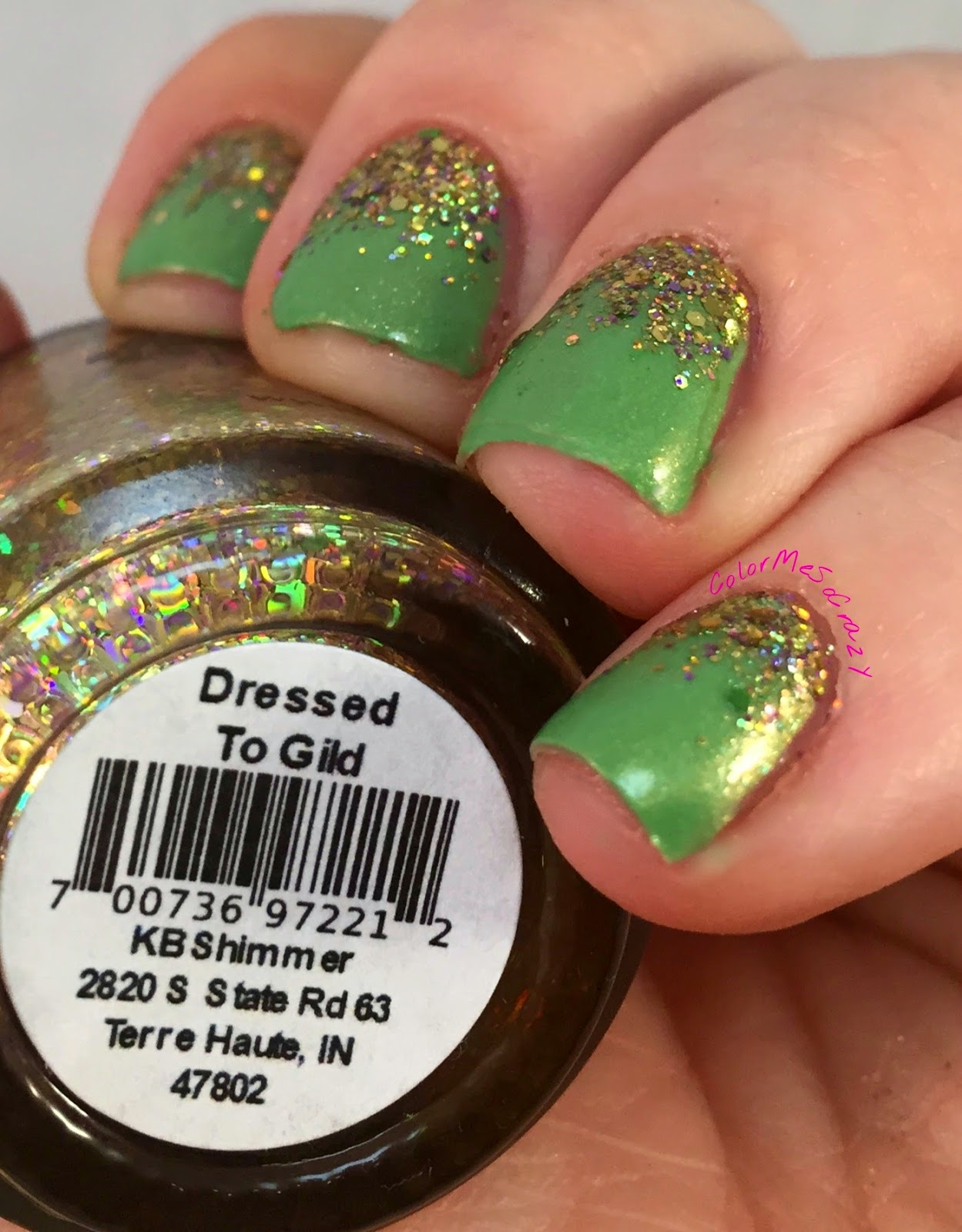 blue-eyed-girl-lacquers-begl-go-bragh, begl, kb-shimmer, st-patricks-day, st-patricks-day-nails, green-nails