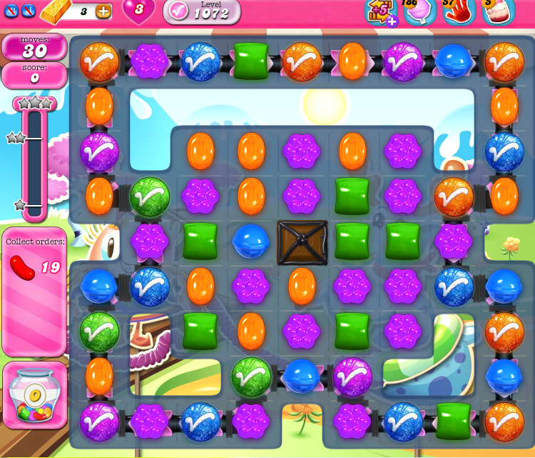 Candy Crush Saga 1072