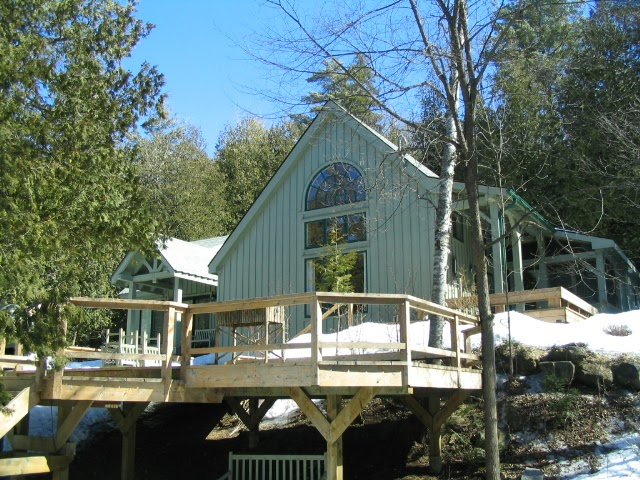 Cottage for sale limerick lake for Custom cottage fish house prices