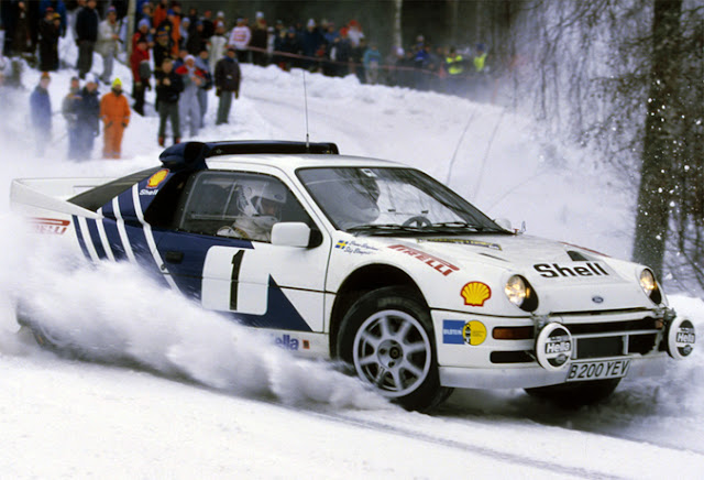 Ford RS200 Group B