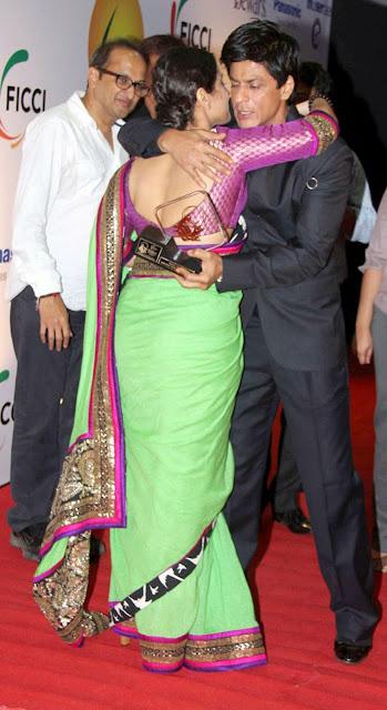 Shahrukh Khan, Hugh Jackman, Vidya Balan at ficci frames 2011