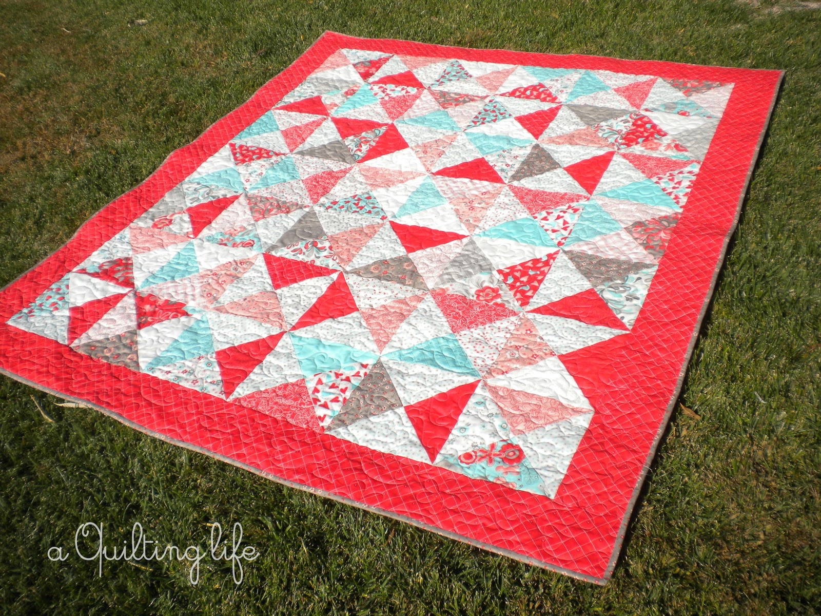 Easy Quilt Patterns With Layer Cakes : Easy as Pie Layer Cake Quilt Moda Bake Shop