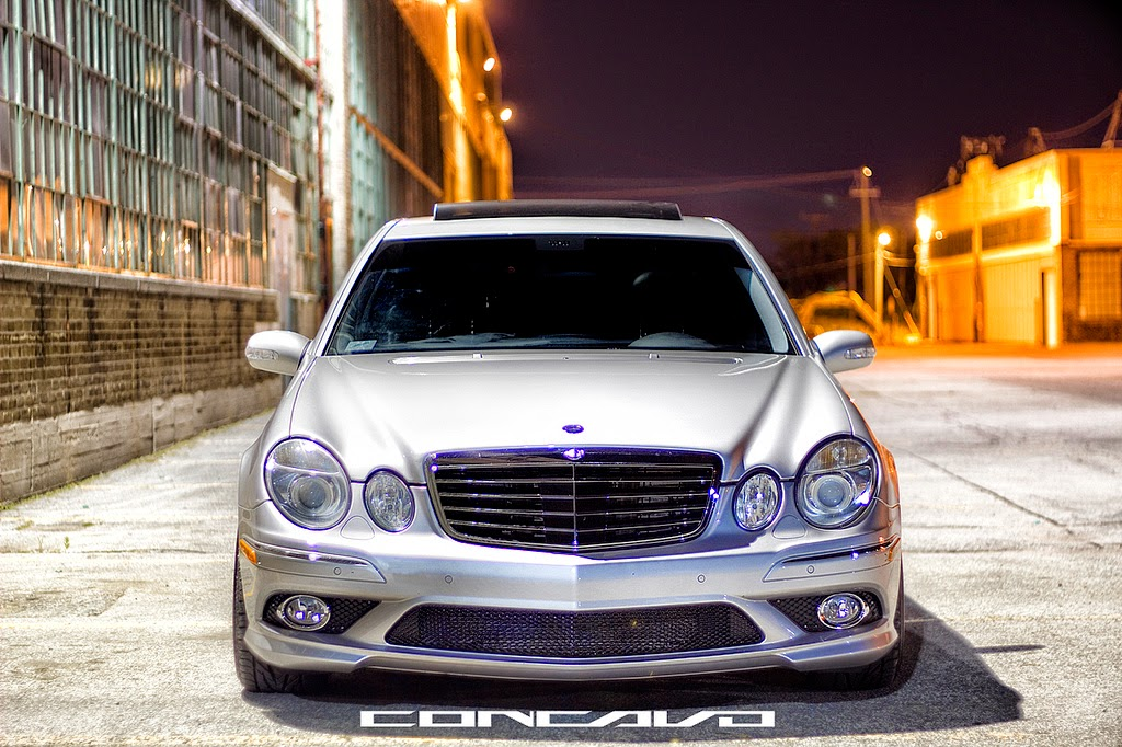 mercedes benz w211 e55 amg on concavo cw 12 benztuning. Black Bedroom Furniture Sets. Home Design Ideas