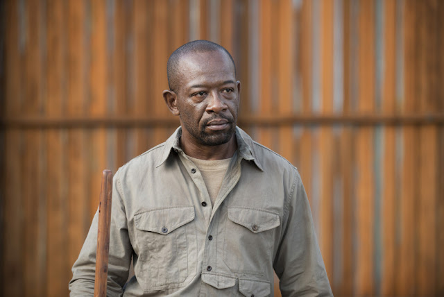 Lennie James como Morgan Jones – The Walking Dead _ sexta temporada, Episode 2 – Photo Credit: Gene Page/AMC