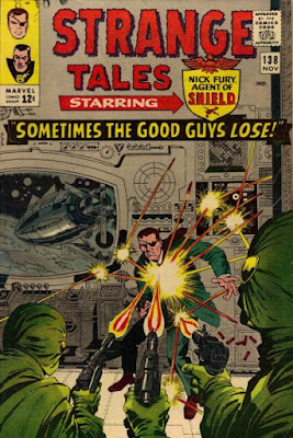 Strange Tales #138, Nick Fury, SHIELD