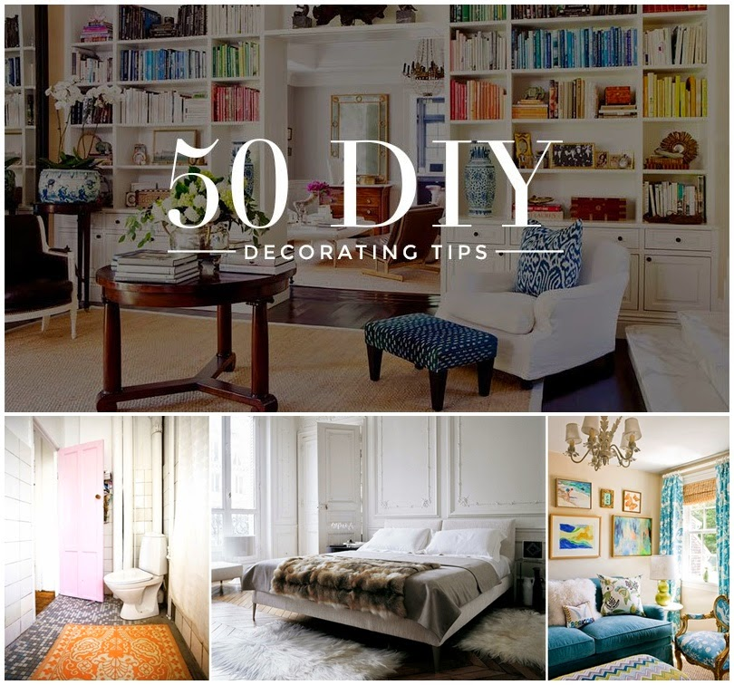 50 DIY Decorating Tips