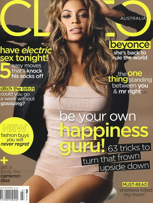 "Beyonce Covers ""Cleo"" And ""TIME"" Magazines!"