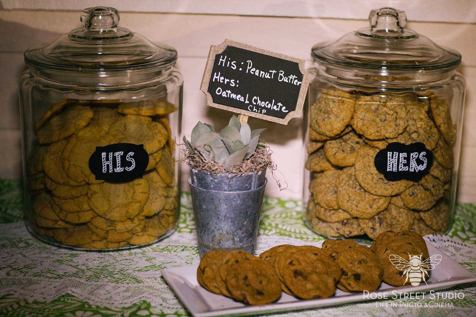 His and Hers Wedding Cookies l Take the Cake Event Planning