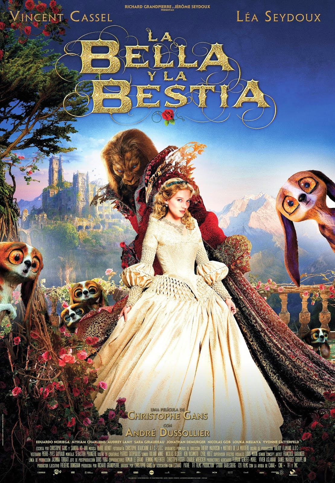 Review Beauty and the Beast La bella y la bestia