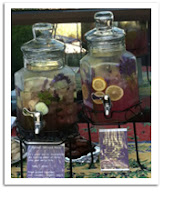 Lavender Lemonade and Spa Water
