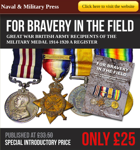 Military Medal - Bravery in the Field