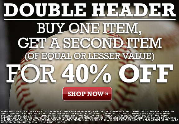 mlb buy one get one 40 percent off