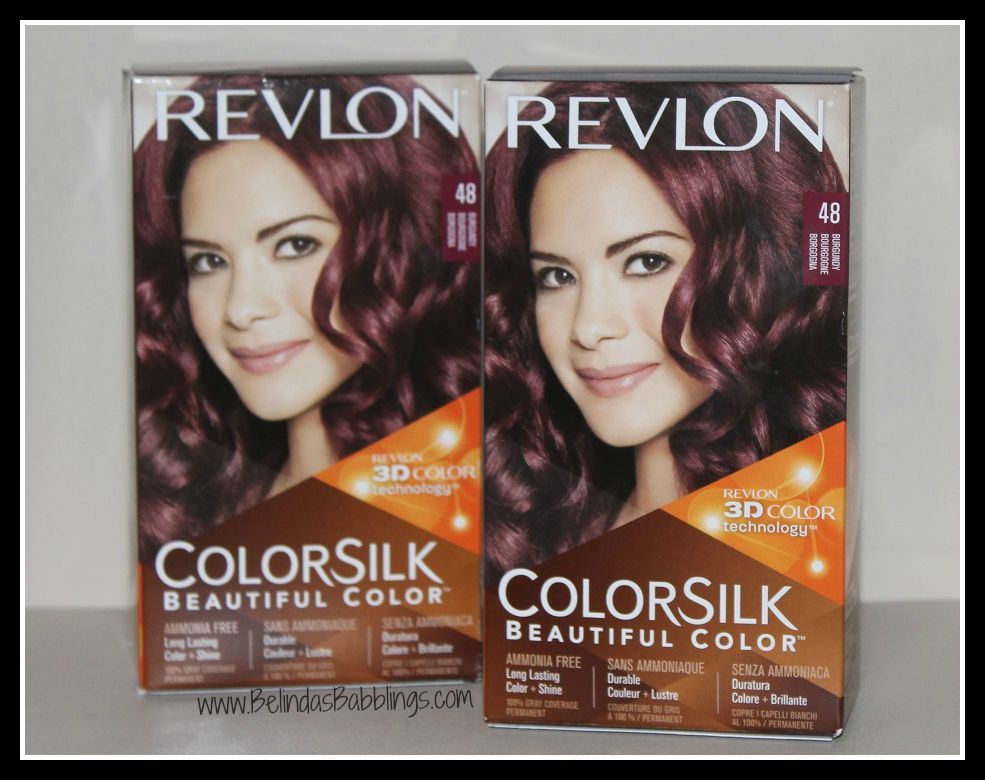 Revlon Colorsilk Hair Dye In Burgundy 48 Before And After Photos