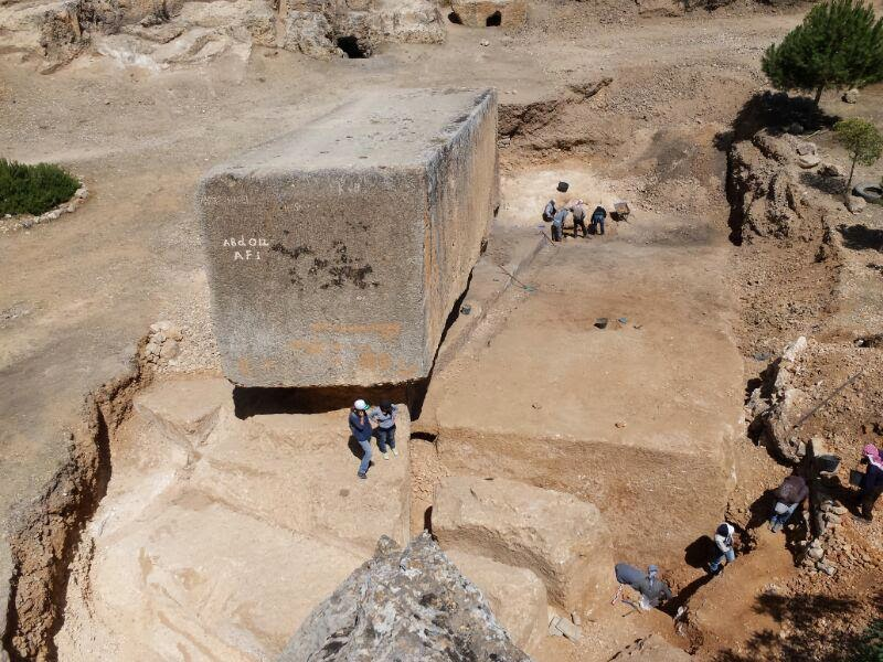 Largest ancient stone block discovered in Baalbek