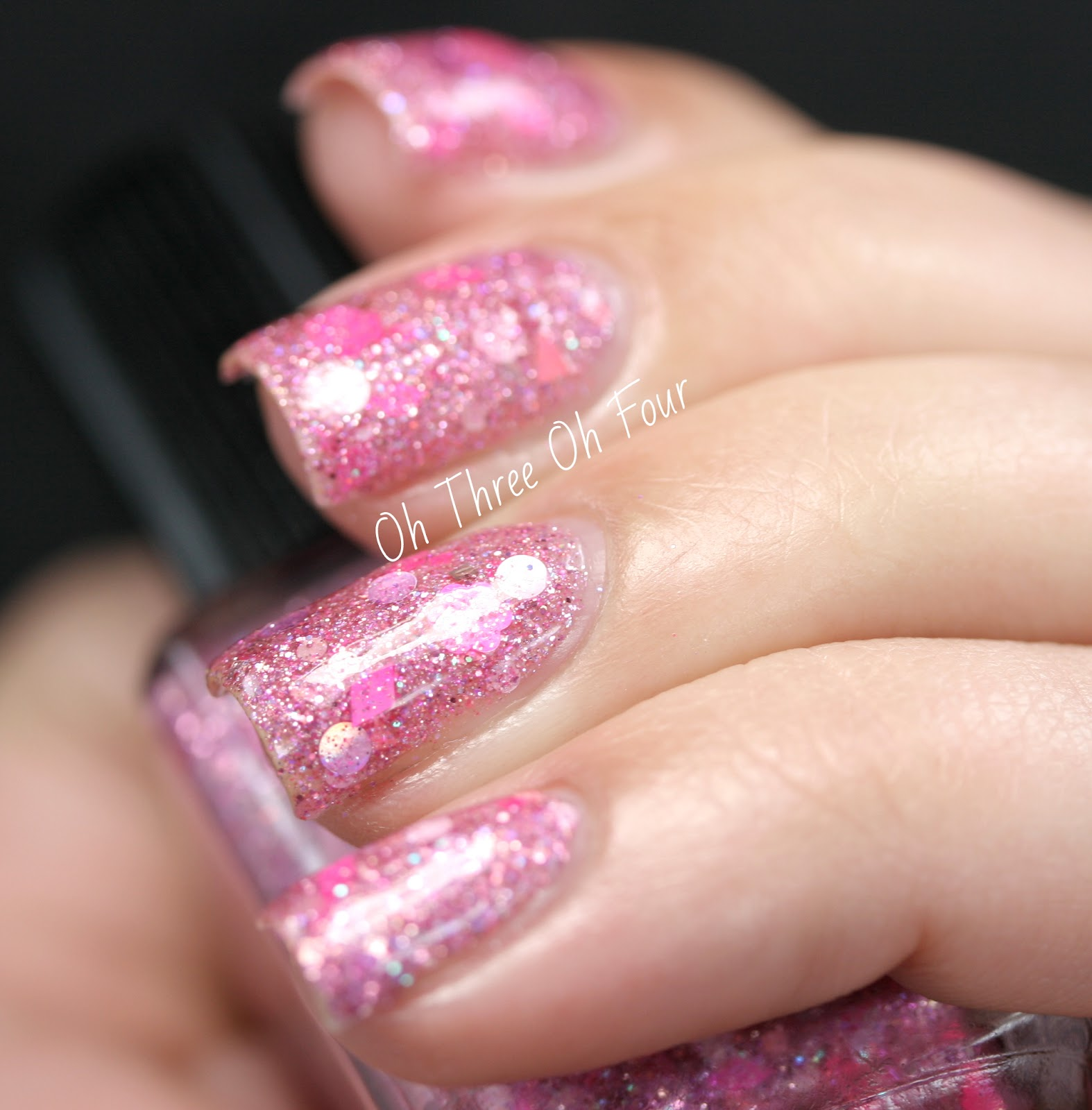 Lynnderella Rare Pink Bunicorn Swatch