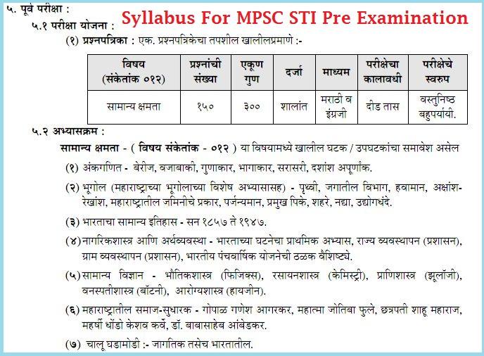 Mpsc study books pdf