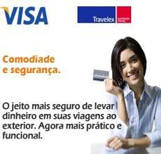 Visa Travel Money Praticidade num só produto.