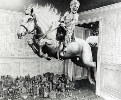 Disturbing Illustrations by Laurie Lipton