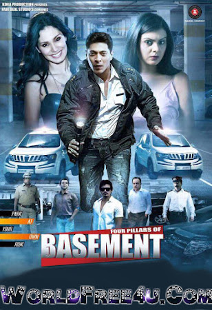 Poster Of Hindi Movie Four Pillars of Basement (2015) Free Download Full New Hindi Movie Watch Online