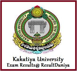 Kakatiya University MA Results