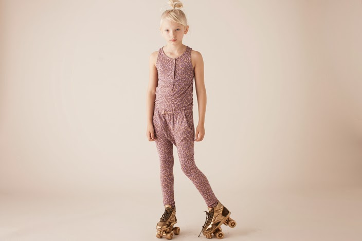 Girls' suit by Soft Gallery SS14
