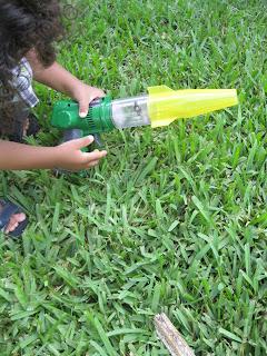 Backyard Safari Outfitters Lazer Light Bug Vacuum
