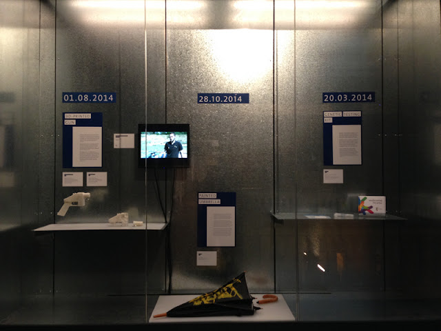 Rapid Response Collecting display at the V&A, London