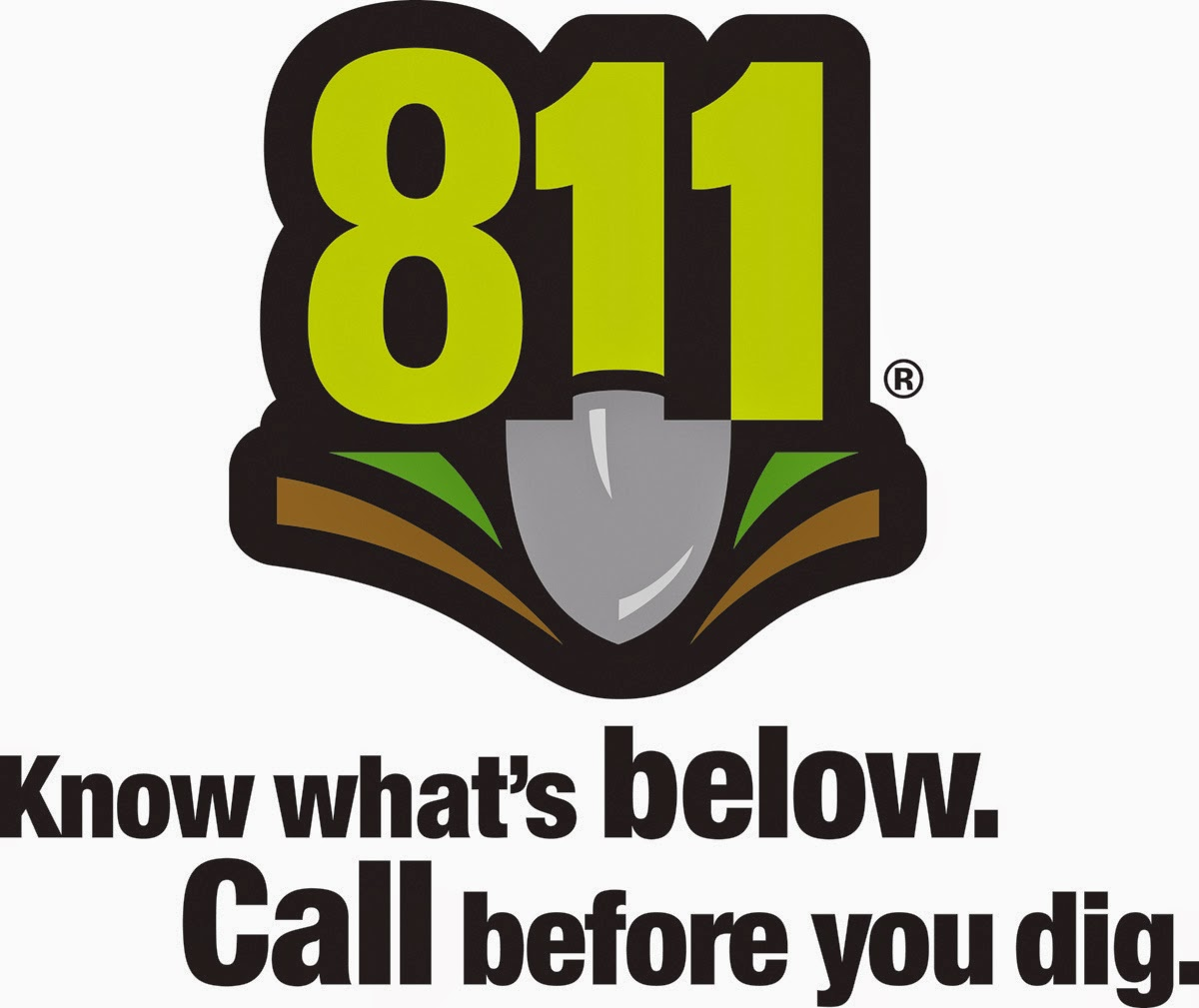 811. Know what's below. Call before you dig.