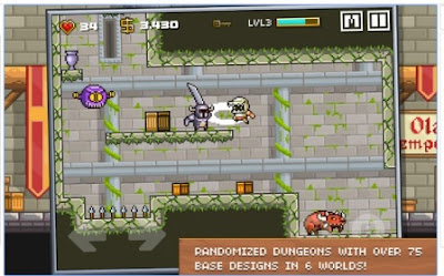 Game Petualangan RPG Offline Devious Dungeon APK Android