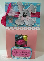 Bunny Goodie Bag with Tracy