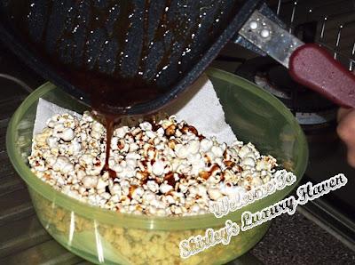 happy call coffee popcorn recipes