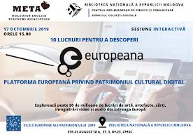 10 lucruri pentru a descoperi #Europeana – platforma europeană privind patrimoniul cultural digital