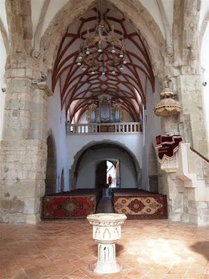Interior de la Iglesia de Prejmer