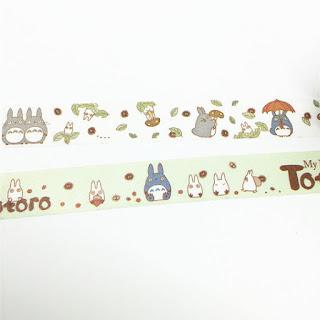 totoro washi