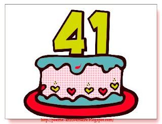 Poème d'anniversaire maman 41 ans