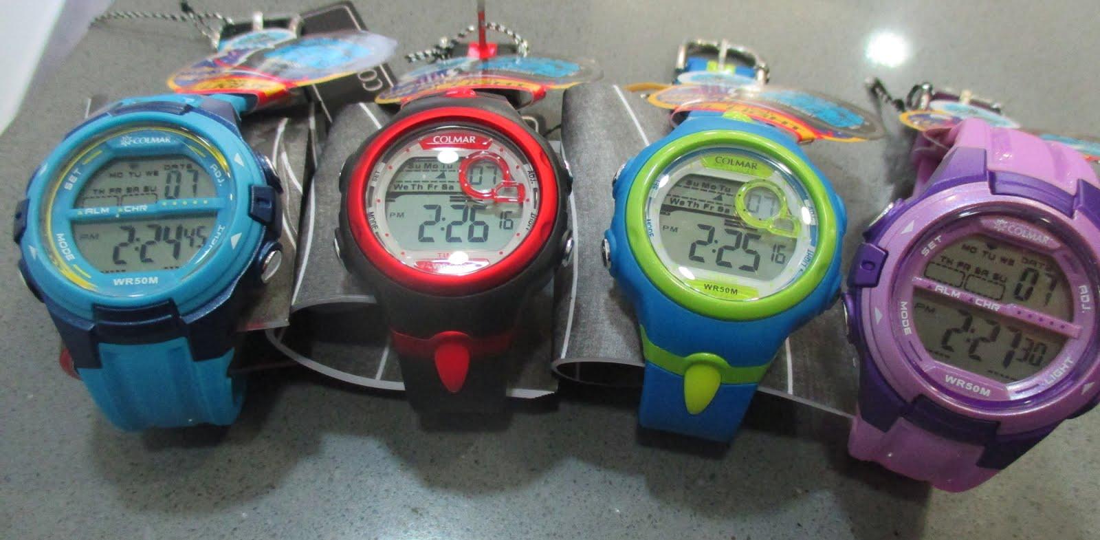 Relojes digitales Colmar para niño o chica