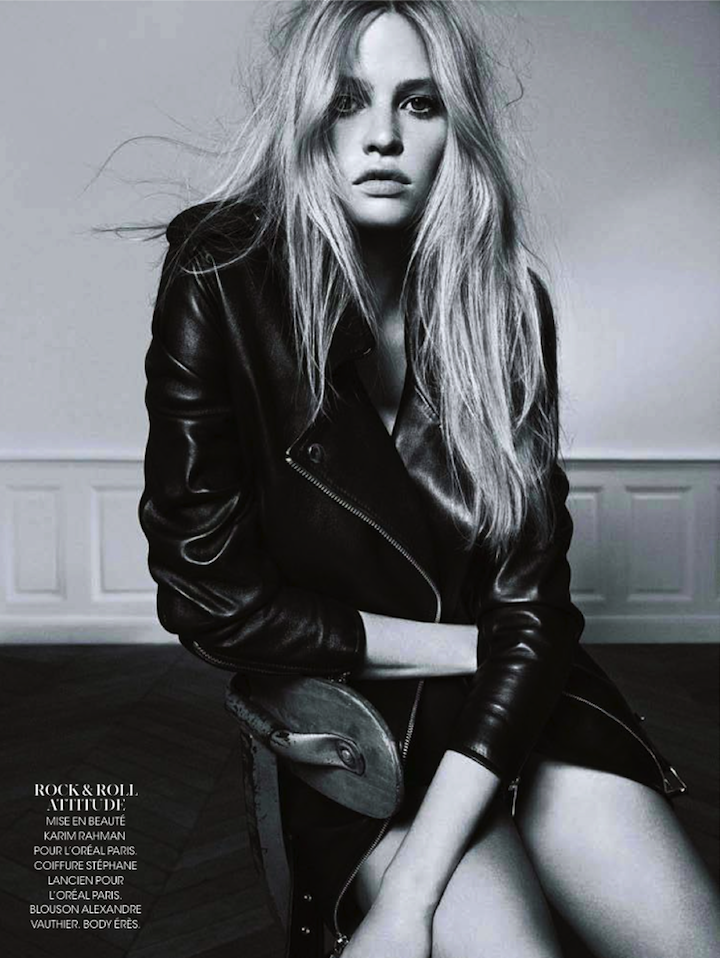 Lara Stone By Nico For Madame Figaro 25th October 20133