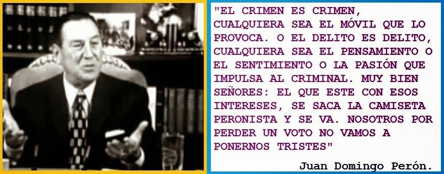 El crimen es crimen...