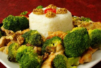 Chinese Food Chicken and Broccoli Nutrition