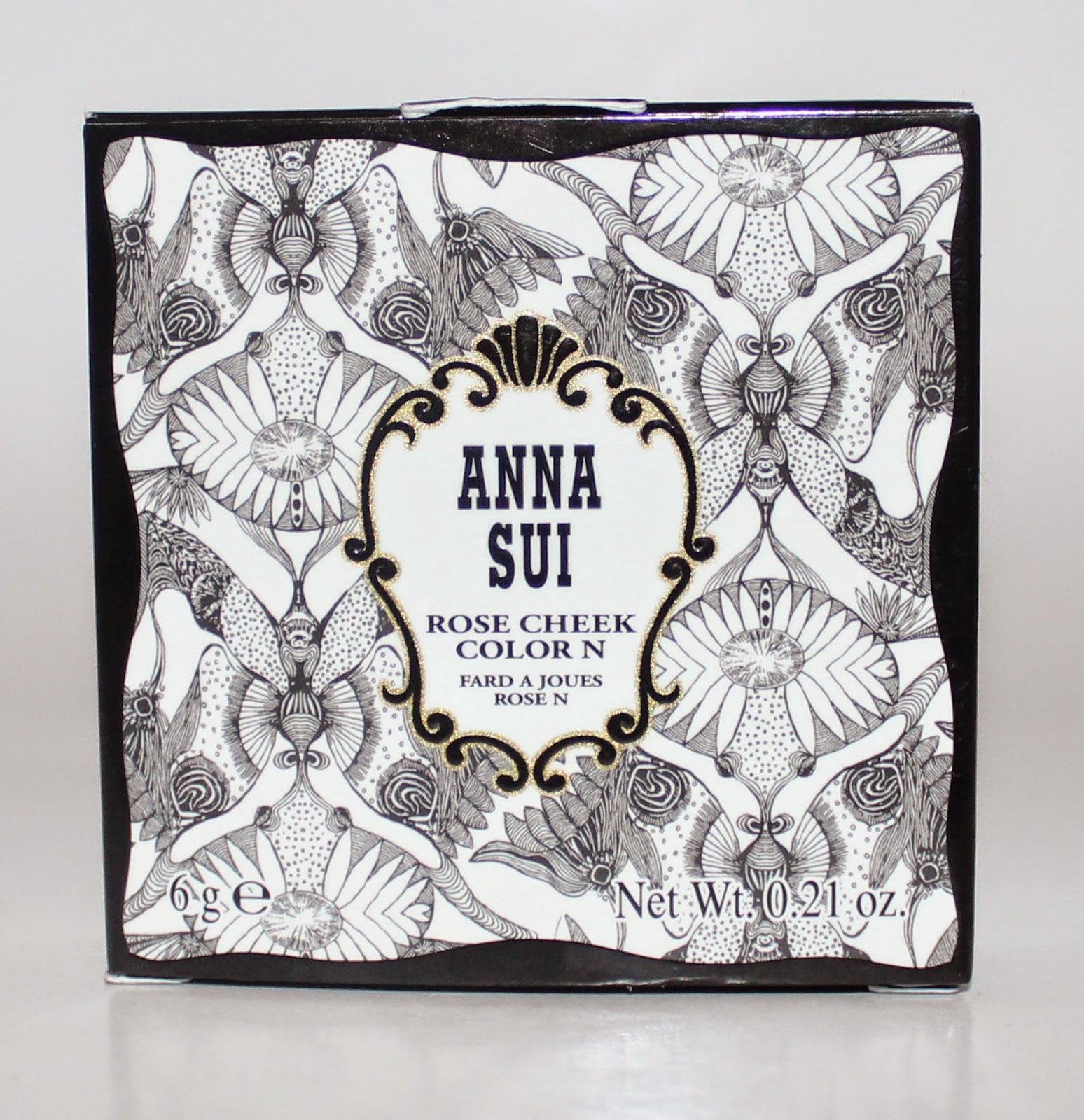 Anna Sui Rose Cheek Colour in Romantic Rose