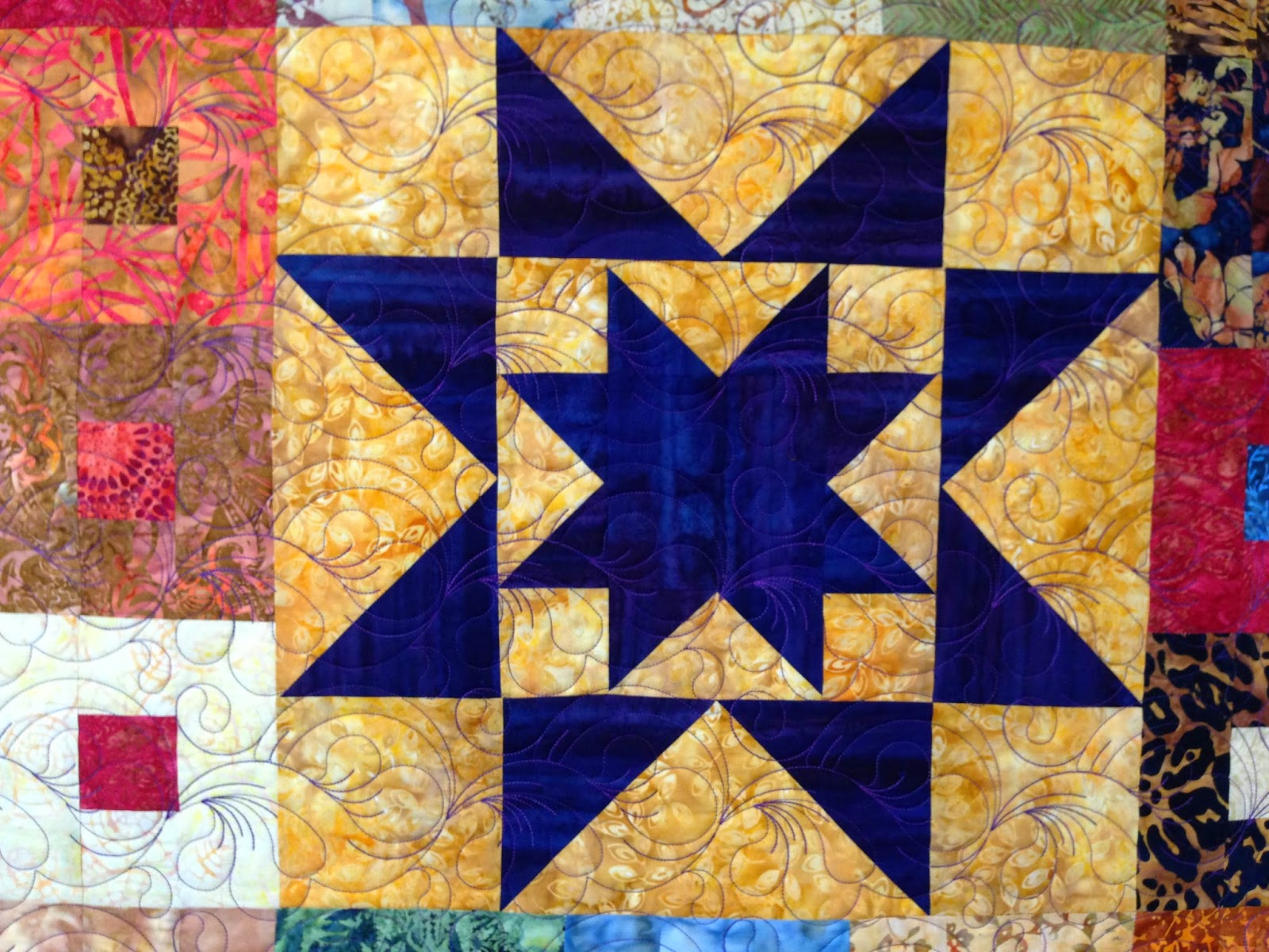 Leanne Strum Purple Daze Quilt